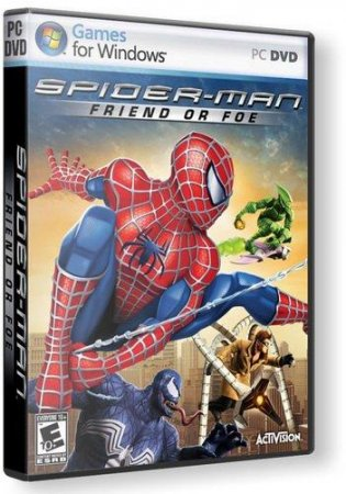 Spider-Man: Friend Or Foe (2007/RUS/ENG) RePack от R.G.R3Pack