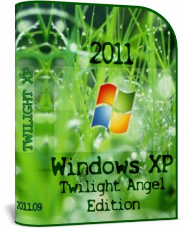 Windows XP Twilight Angel Edition 2011.09 (RUS)
