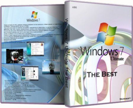 Windows 7 Ultimate SP1 The Best x86 (2011/RUS)
