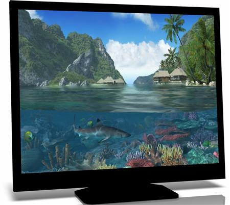 Caribbean Islands 3D Screensaver 1.1 build 4 (2011)