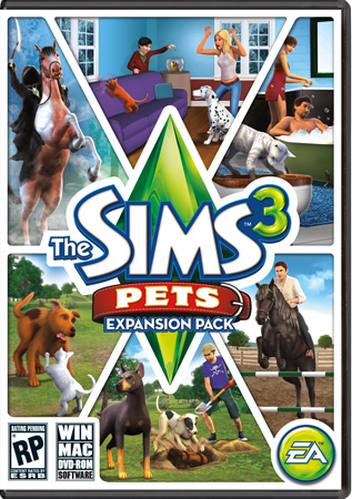 Sims 3: Питомцы / The Sims 3: Pets (PC/2011/MULTI/RUS/ENG)