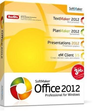 SoftMaker Office Professional 2012 (rev 656) Repack by Boomer