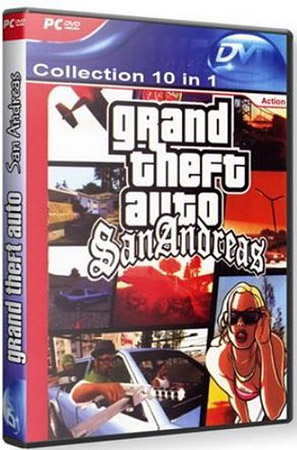 GTA San Andreas - Collection 10 in 1 (PC/Repack/RU)
