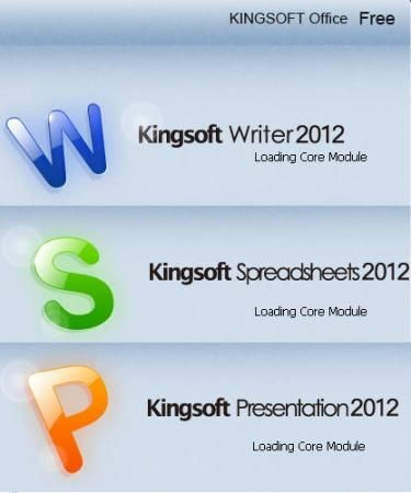 Kingsoft Office Suite Free 2012 8.1.0.3032