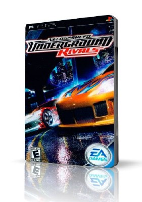 Need for Speed: Underground Rivals для оф прошивки 6.31-6.60 (RUS/2005/PSP)