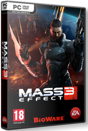 Mass Effect 3 + DLC (2012/Lossless Repack z10yded)