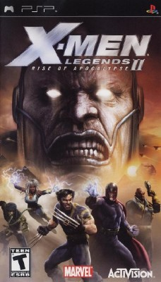 X-Men Legends II: Rise of Apocalypse для оф прошивки 6.31 - 6.60 (PSP/ENG/2005)