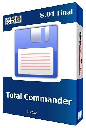 Total Commander 8.01 x86+x64 Setup + Sielent/Extra/Portable