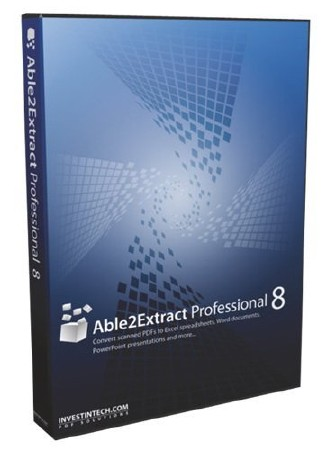 Able2Extract Professional 8.0.28.0 Portable
