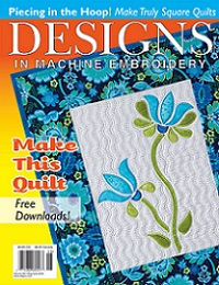 Designs In Machine Embroidery №98 2016