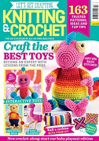 Let's Get Crafting Knitting & Crochet №110 2019